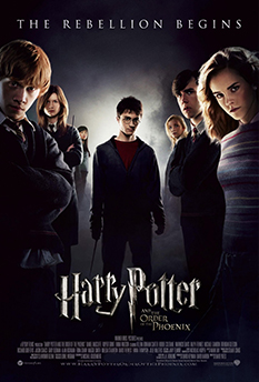 Фильм HARRY POTTER AND THE ORDER OF THE PHOENIX