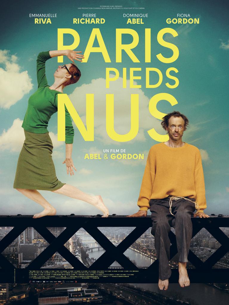 Париж босиком